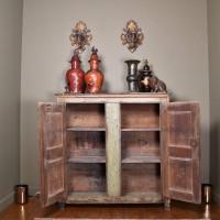 18th century Arte Povera cupboard