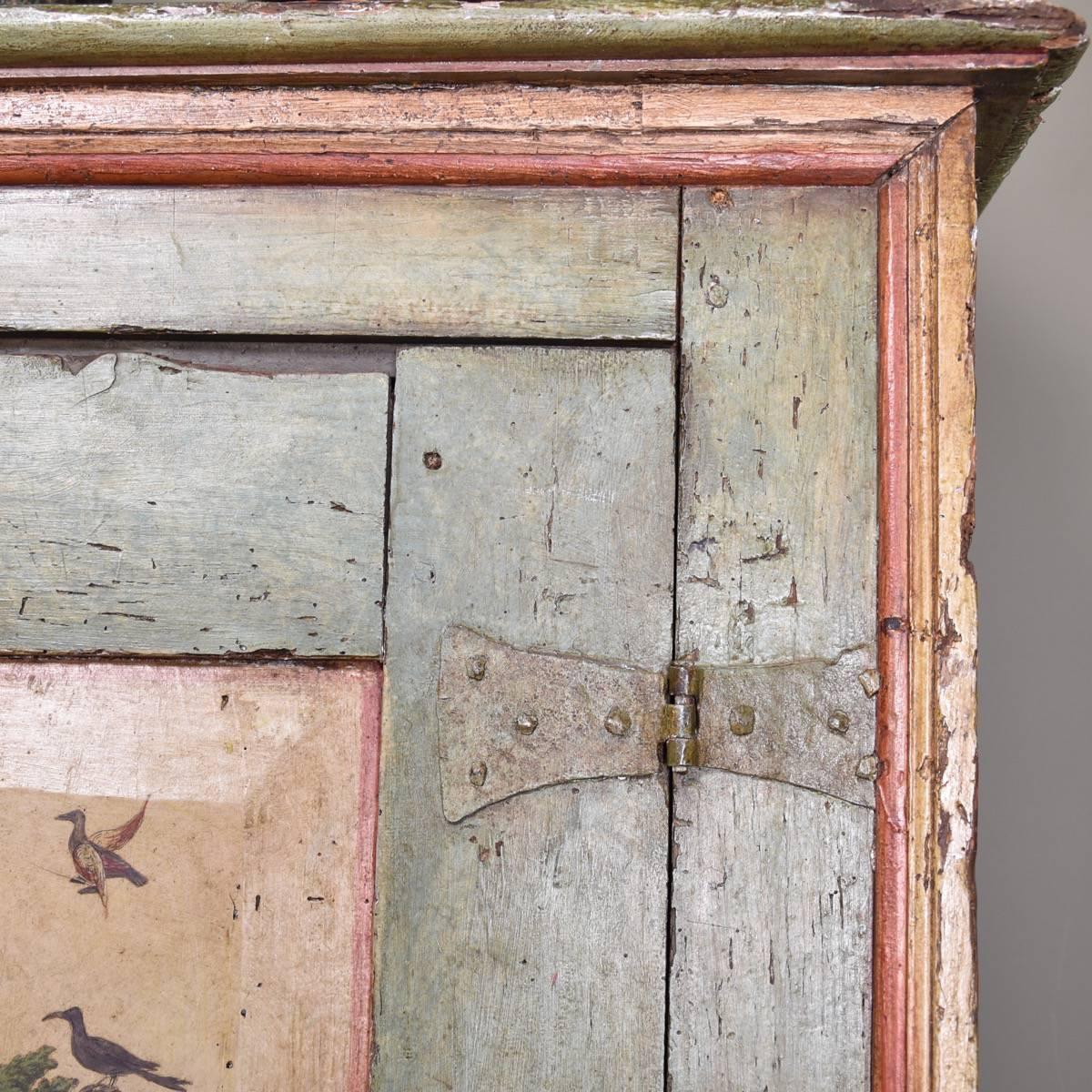 Arte Povera Italian Cupboard 18th Century