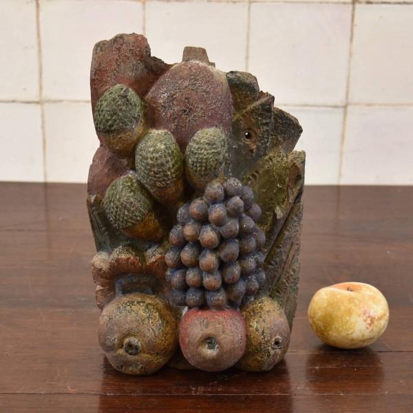carved Fruits Sculpture