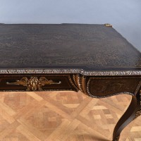 Antique Brass inlaid Bureau