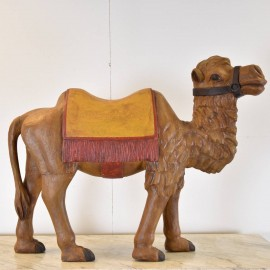 Wood Figure of a Camel