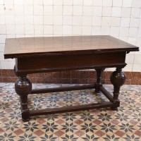 Antique Dutch Draw leaf Table