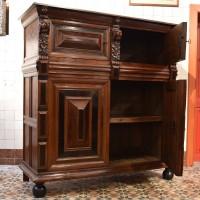 Antique Dutch Rosewood Cupboard