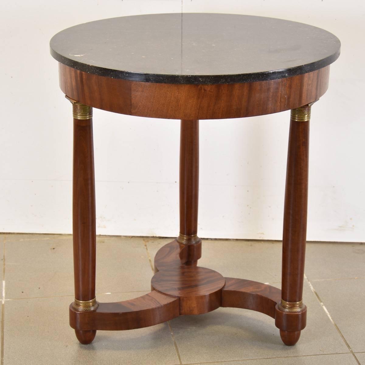 empire style gueridon antique furniture. Black Bedroom Furniture Sets. Home Design Ideas