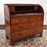 English Roll Top Bureau