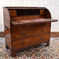 Antique English Roll Top Desk