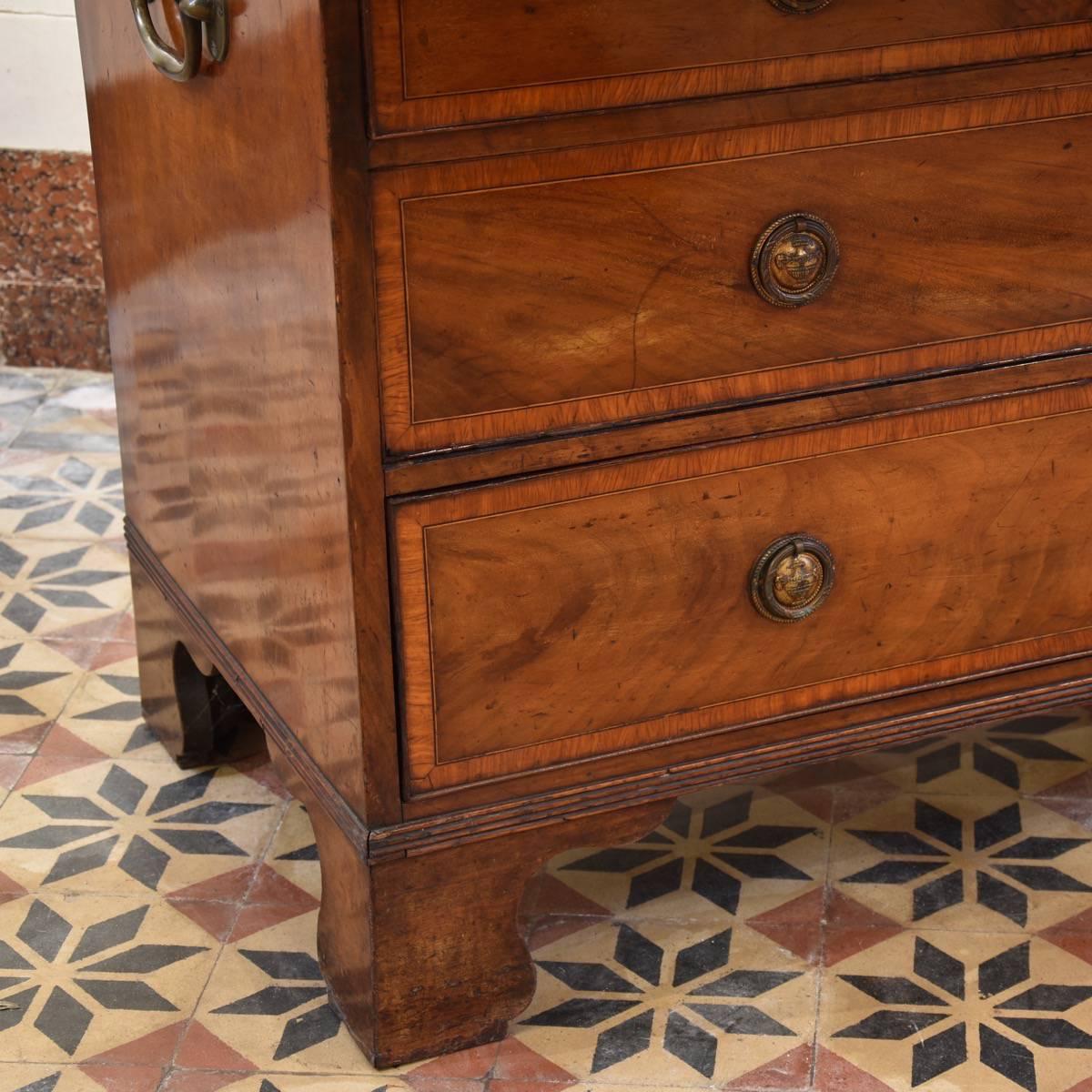 Antique English Roll Top Bureau Roll Top Desk