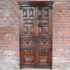 Antique 4 DOOR CABINET
