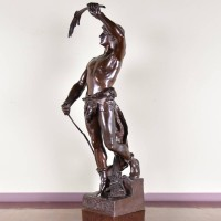 French Bronze Statue