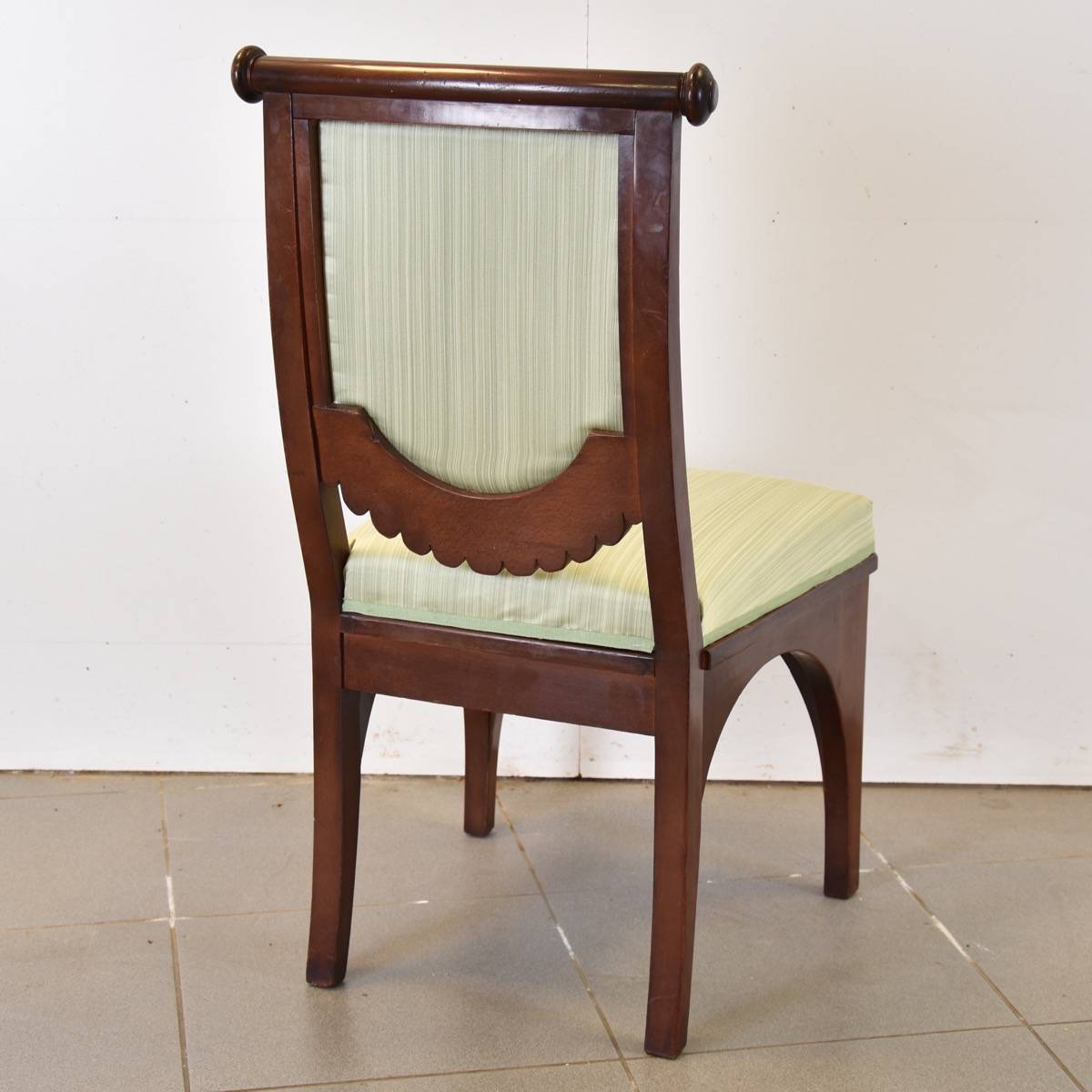 19th Century Set of Chairs - Set Of Eclectic Chairs Antique Furniture