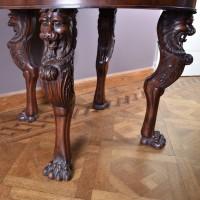 antique mahogany  gueridon