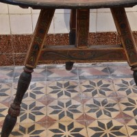 Painted Dutch Friesland Table
