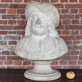 Antique Dutch Marble Bust