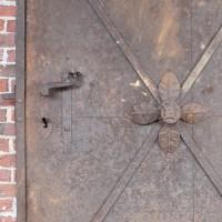 German Iron decorative door