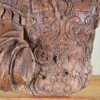 Dutch oak carving