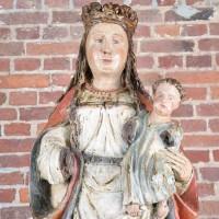 Flemish Crowned Madonna