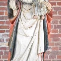 Haute Epoque flemish wood statue