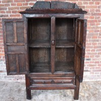 Antique Spanish chestnut Cupboard