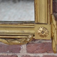 Fine carved Swedish Mirror