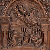 Dutch oak relief