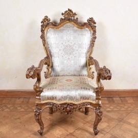 Important Italian Armchair