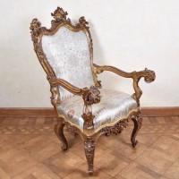 Antique Italian Armchair