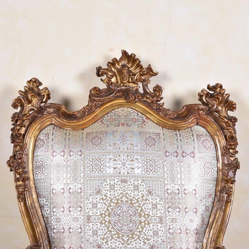 Important Italian Armchair - 17th Century