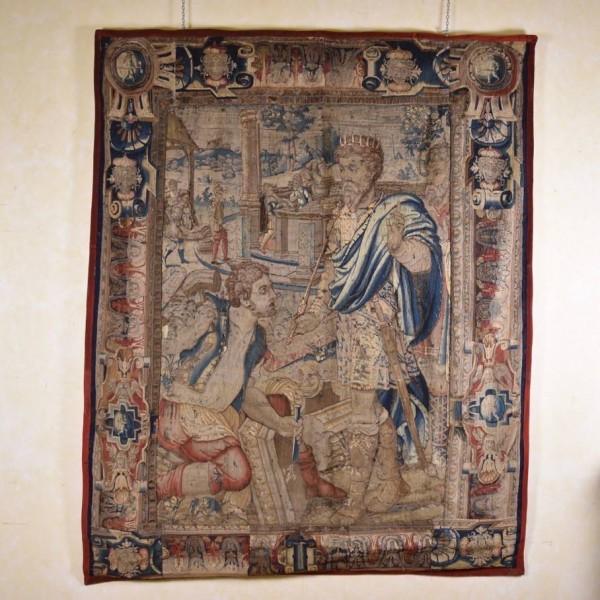 Tapestry depicting King Nimrod