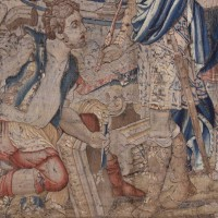 Antique Tapestry King Nimrod