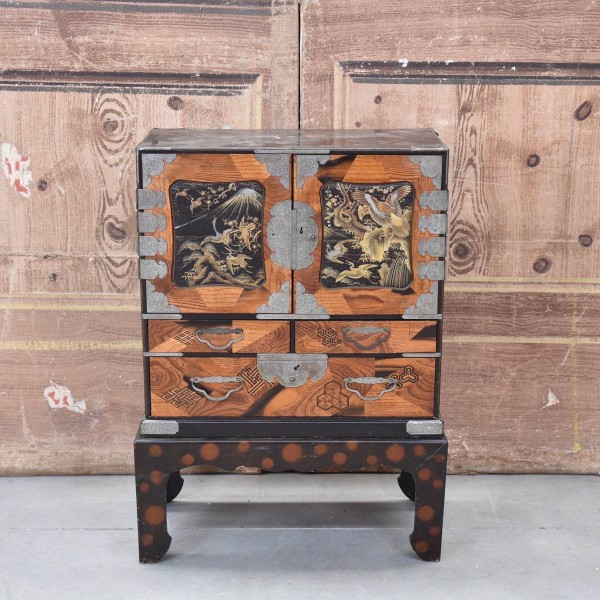 antique chinese export cabinet