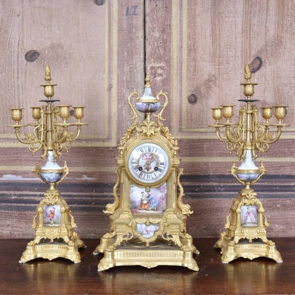 antique-decorative-french-garniture-clock1