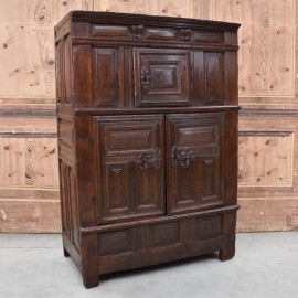 17th Century French Oak Cupboard