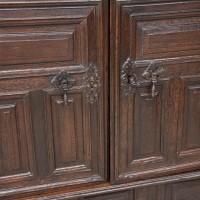 17th Century French Oak Cupboard