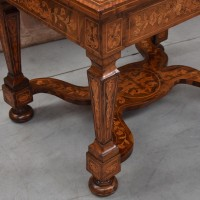 Antique Dutch Marquetry table