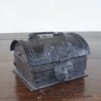 Antique Iron casket