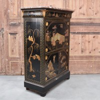 Chinese  writing cabinet marble top – Circa 1900