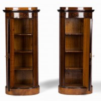 Pair of Danish pedestals