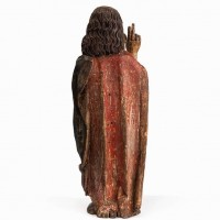 St john the Baptiste carved Wood