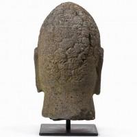 carved Buddha head