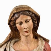17th Century Pieta with traces of Polychrome