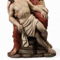 Pieta with polychrome, circa 1600