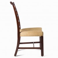 Mahogany George III chair