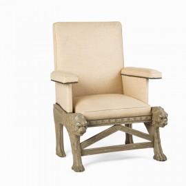 Antique Decorative Armchair