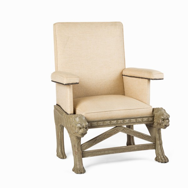 Antique Decorative Armchair
