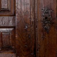 Spanish 17th century 4 door cupboard