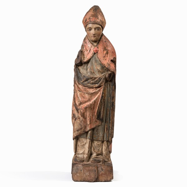 Carved French Bishop