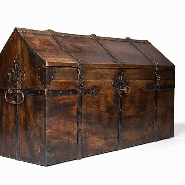 Antique 18th century coffer