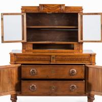 18tn century walnut cabinet