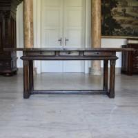 large Spanish table circa 1700