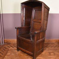 Unusual English Chair 17th C